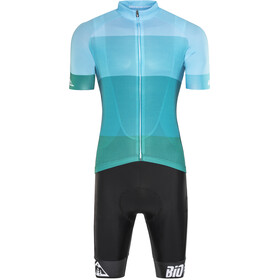 Red Cycling Products Colorblock Race Set Herr green-blue